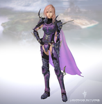 FFXIII Lightning Returns Lightning Dragoon by Sticklove