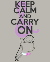 Keep Calm and Carry On by thegoldfox21