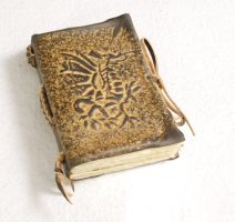 Leather Dragon Notebook by gildbookbinders