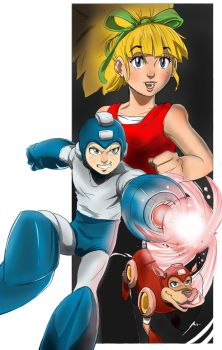 Megaman by Dericules