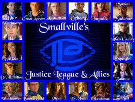 Smallville's Justice League and Allies by GarciaPenelope