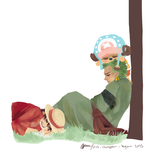 Does Chopper take naps? by TsukiTomo