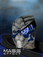 Garrus Vakarian (Mass Effect) by StarWarsJediAmy