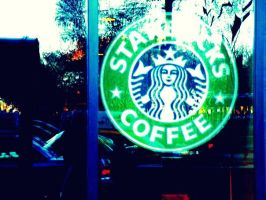 Starbuck's There Everywhere by Noora7at
