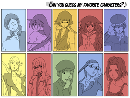 Can you guess them all? - female ver. by amashimono