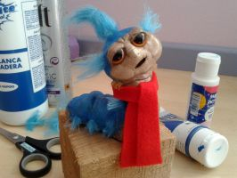 Labyrinth Worm almost finished! by ThisisHalloweenTown