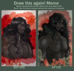 Draw this again meme by LadyCamafeo