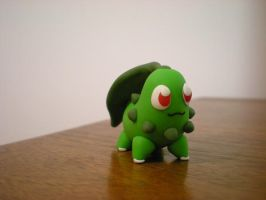 Chikorita by Foureyedalien
