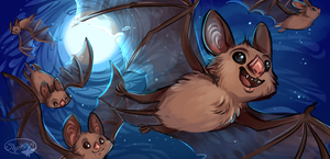 Vampire Bats by sharkie19