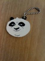 Kung Fu Panda Keychain by Clare-Sparda