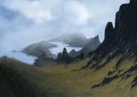 Landscape by Kubeen