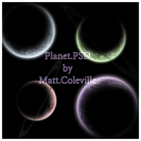 Planet.PSD by MattColeville
