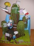 Paper Mache Adventure Time Tree House by flouder5
