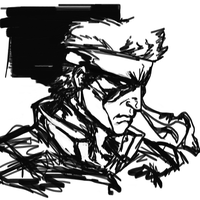 Solid Snake by ManBean