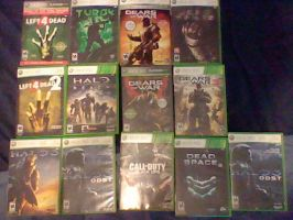 My Xbox Games I play Online by RAGEZILLA2012