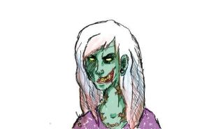 zombie pastel by canaryroom