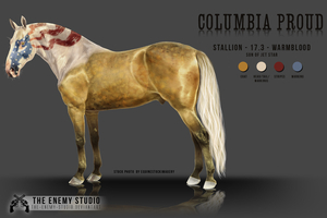 COLUMBIA PROUD - character sheet by THE--ENEMY