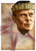Uther Pendragon from Merlin by westleyjsmith