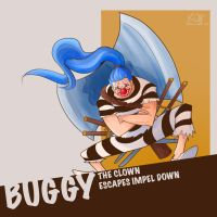 Buggy-Impel Down by Yami08
