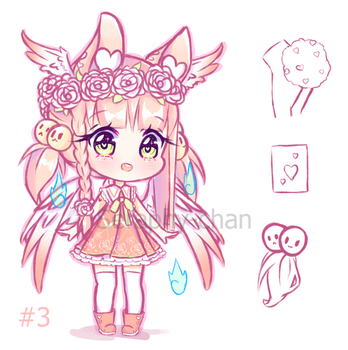 Yanny Adoptable #3 [AUCTION] CLOSED by Seraphy-chan