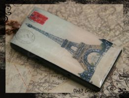 Eiffel Tower Paris Pendant by kelleejm1