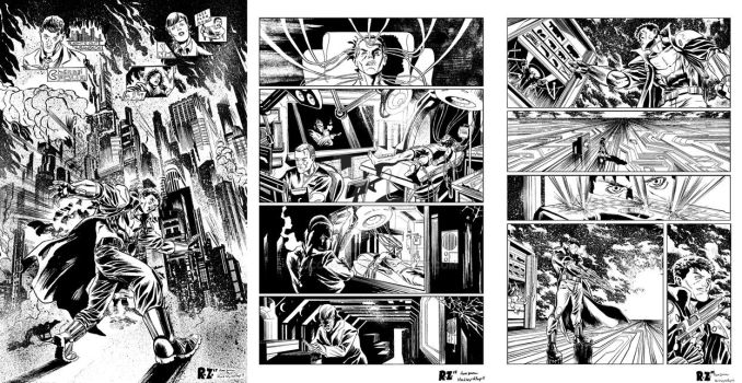 Hard Wyred Issue 1 Pages by ZUCCO-ART