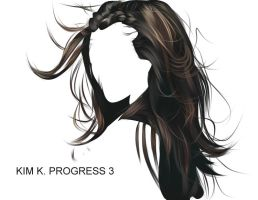 KIM K PROGRESS 3 by fabulosity
