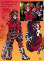 Resident 40k Claire Redfield by Raax-theIceWarrior
