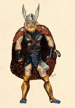 The Mighty Thor by 1933Oliver