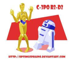 Droids by OptimusPraino