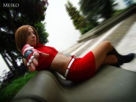 Meiko Vocaloid Cosplay 05 by Bastetsama-Cosplay