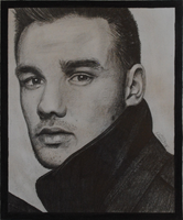 Liam Payne GQ drawing by ItsDaniDee