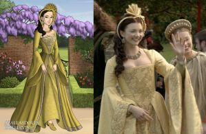 Anne's Yellow Celebration Gown by LadyAquanine73551