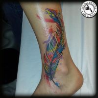feather by arturtattooart
