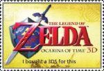 Zelda 3DS Stamp by Ace0024