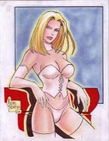 Emma Frost -White Queen- by Rodel Martin by VMIFerrari