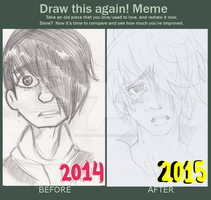 Draw this again -Meme! by MadammeBadasz