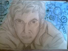 10th Doctor - rough and blue by spiritofthebeast