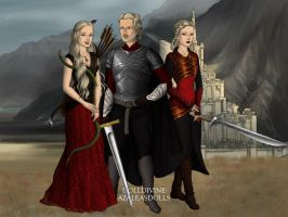 Aegon and his Sister-Wives by Tenshi-oujo