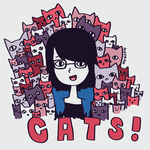CATS! by daniedesigns