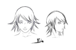 Manga project - Character description - Eris by Scilentor