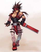 Sol Badguy - Puzzle and Dragon Style by na-insoo