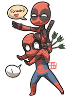 Carry the Deadpool by griffsnuff