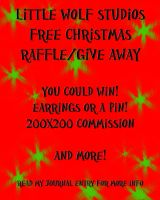 LAST DAY TO ENTER WIN  FREE JEWELRY AND COMMISSION by LilWolfStudios