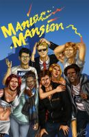 Maniac Mansion by BananaWork