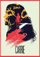 The Many Faces of Cinema: Carrie by Hyung86