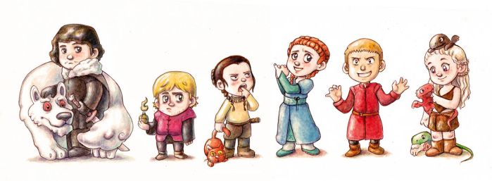Game of Thrones by Gigei