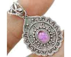 Amazing Handcrafted 925 Sterling Silver Amethyst P by yanxgroup