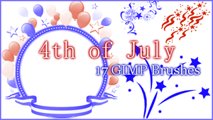 GIMP 4th of July by Illyera