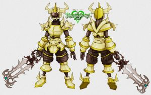 Armor Joxor Character Design by Mobis-New-Nest